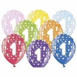 Ballonnen 1 sterretjes 6x