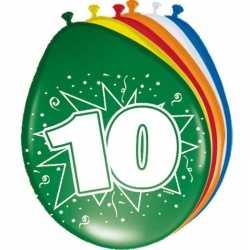 Ballonnen 10 jaar van 30