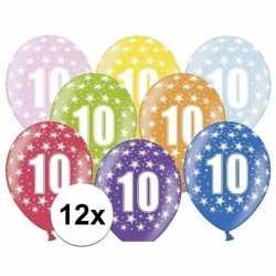 Ballonnen 10 sterretjes 12x