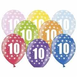 Ballonnen 10 sterretjes 6x