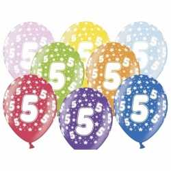 Ballonnen 5 sterretjes 6x