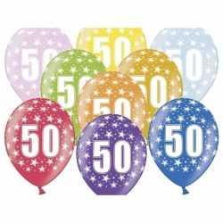 Ballonnen 50 sterretjes 6x