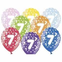 Ballonnen 7 sterretjes 6x