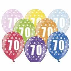 Ballonnen 70 sterretjes 6x