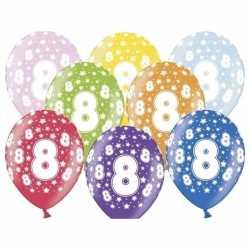 Ballonnen 8 sterretjes 6x