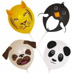 Ballonset dieren 4 stuks