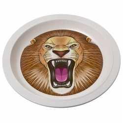 Bamboe ontbijtbord leeuw kinderen 21