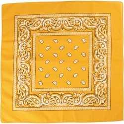 Bandana geel 55x55