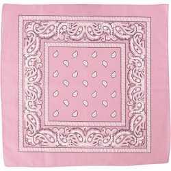 Bandana roze 55x55