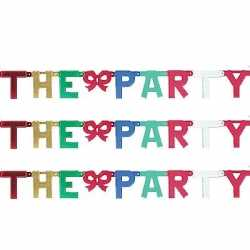 Banner letter T
