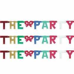 Banner letter V