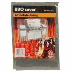 Barbecue beschermhoes 80 bij 80 bij 125 grijs