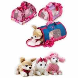 Barbie honden draagtas witte poedel