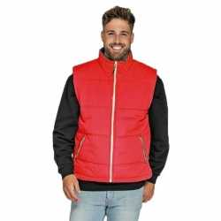 Basic bodywarmer rood heren