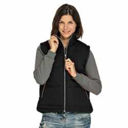 Basic bodywarmer zwart dames