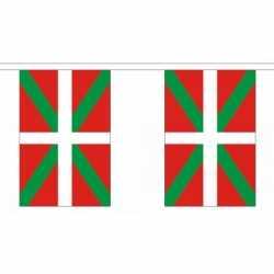 Baskenland vlaggenlijn 9 m