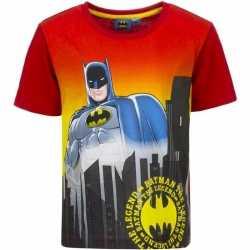 Batman t shirt rode mouw