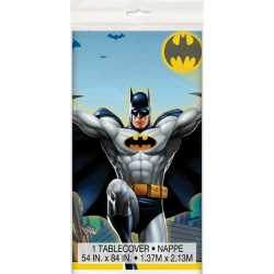 Batman themafeest tafelkleed 137 bij 213