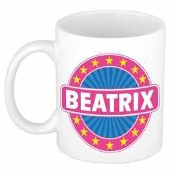 Beatrix naam koffie mok / beker 300 ml