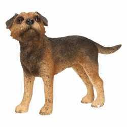 Beeldje border terrier hond 11