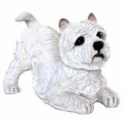 Beeldje West Highland terrier wit 36