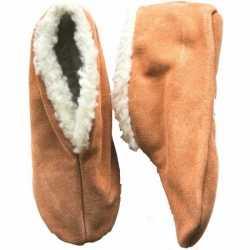 Beige spaanse sloffen/pantoffels dames/heren