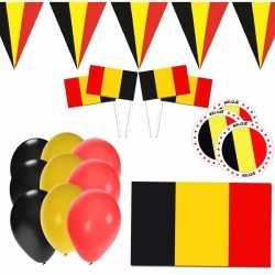 Belgie supporter versiering pakket