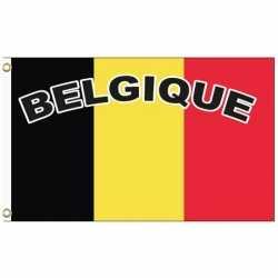 Belgie vlag tekst