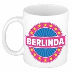 Berlinda naam koffie mok / beker 300 ml