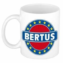 Bertus naam koffie mok / beker 300 ml