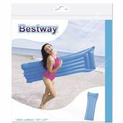 Bestway basic luchtbed blauw 183