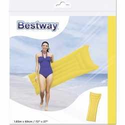 Bestway basic luchtbed geel 183