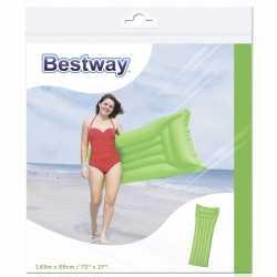 Bestway basic luchtbed groen 183