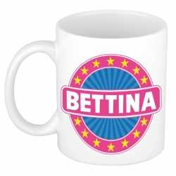 Bettina naam koffie mok / beker 300 ml