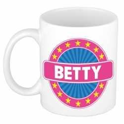 Betty naam koffie mok / beker 300 ml