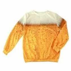 Bier opdruk trui volwassenen