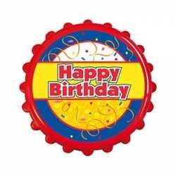 Bierdop flesopener birthday