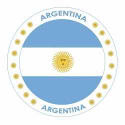 Bierviltjes Argentinië thema print