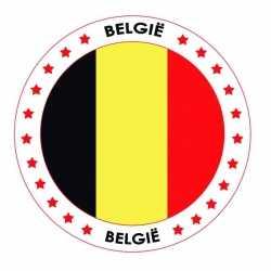 Bierviltjes België thema print