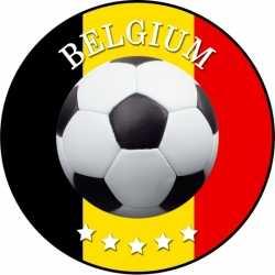 Bierviltjes België voetbal print