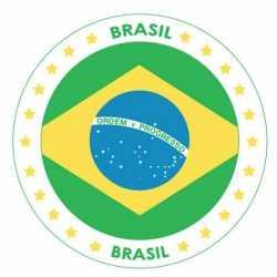 Bierviltjes Brazilië thema print