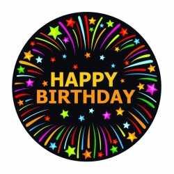 Bierviltjes happy birthday thema print