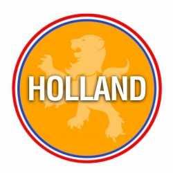 Bierviltjes Holland oranje thema print