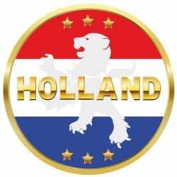 Bierviltjes Holland rood wit blauw