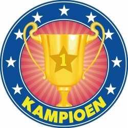 Bierviltjes kampioen trofee