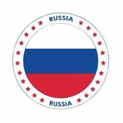 Bierviltjes Rusland thema print