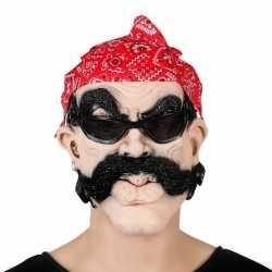 Biker masker bandana bril