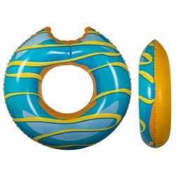 Blauwe donut zwemband 119