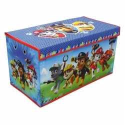 Blauwe paw patrol speelgoed opbergbox 76