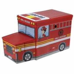 Brandweerauto opbergbox 55